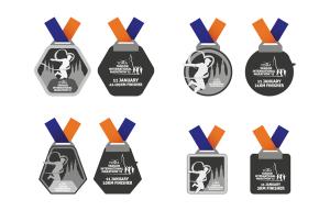 Yangon Marathon Medals