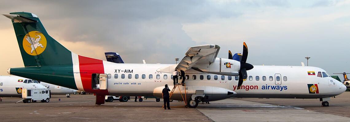 Yangon Airways Flights & Seat Sales