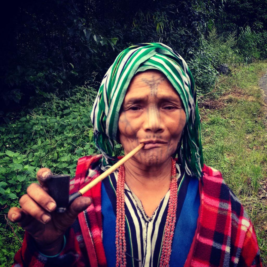 Tattoo Woman Chin Myanmar