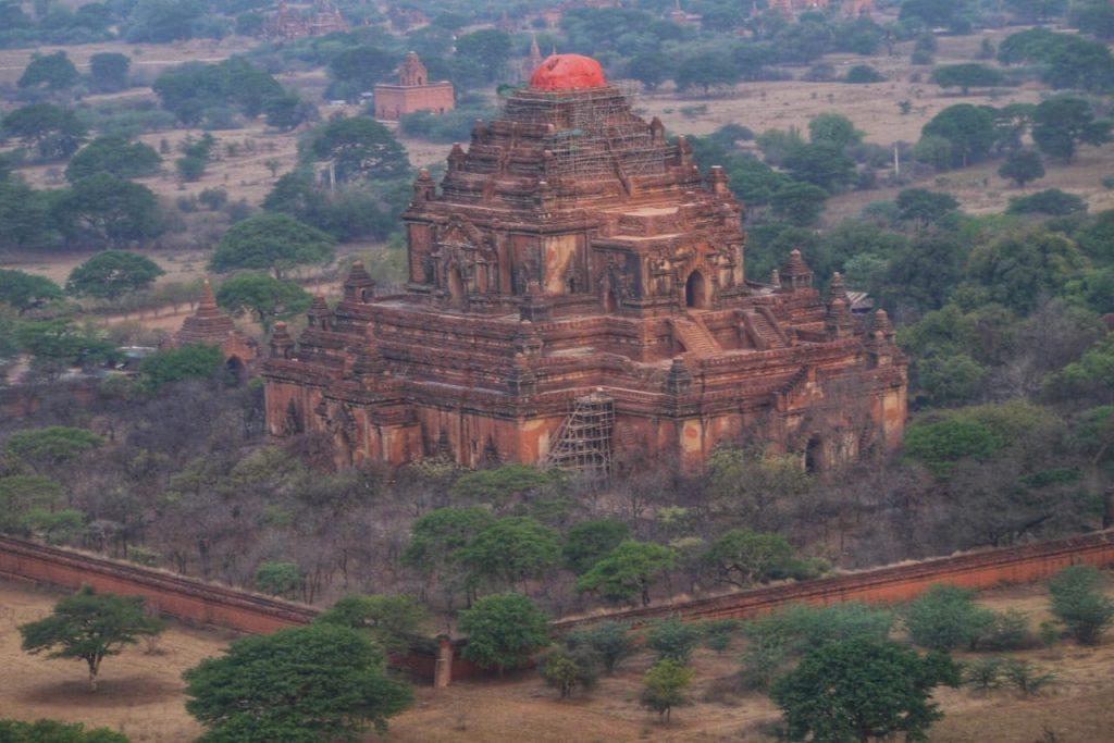 Bagan Temple Balloon Ride