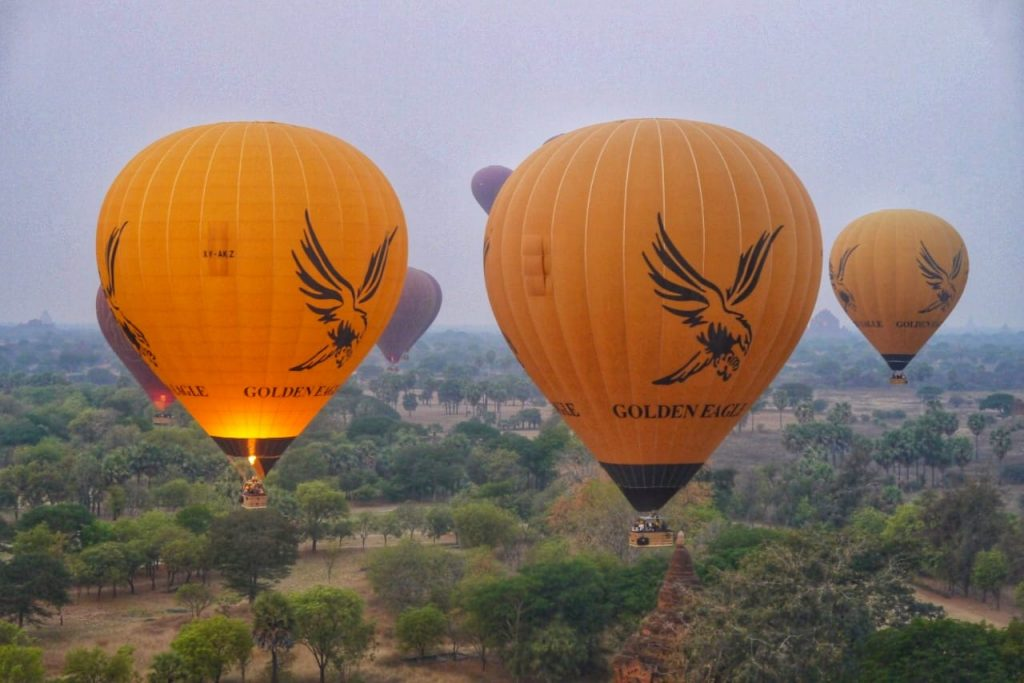 Golden Eagle Ballooning