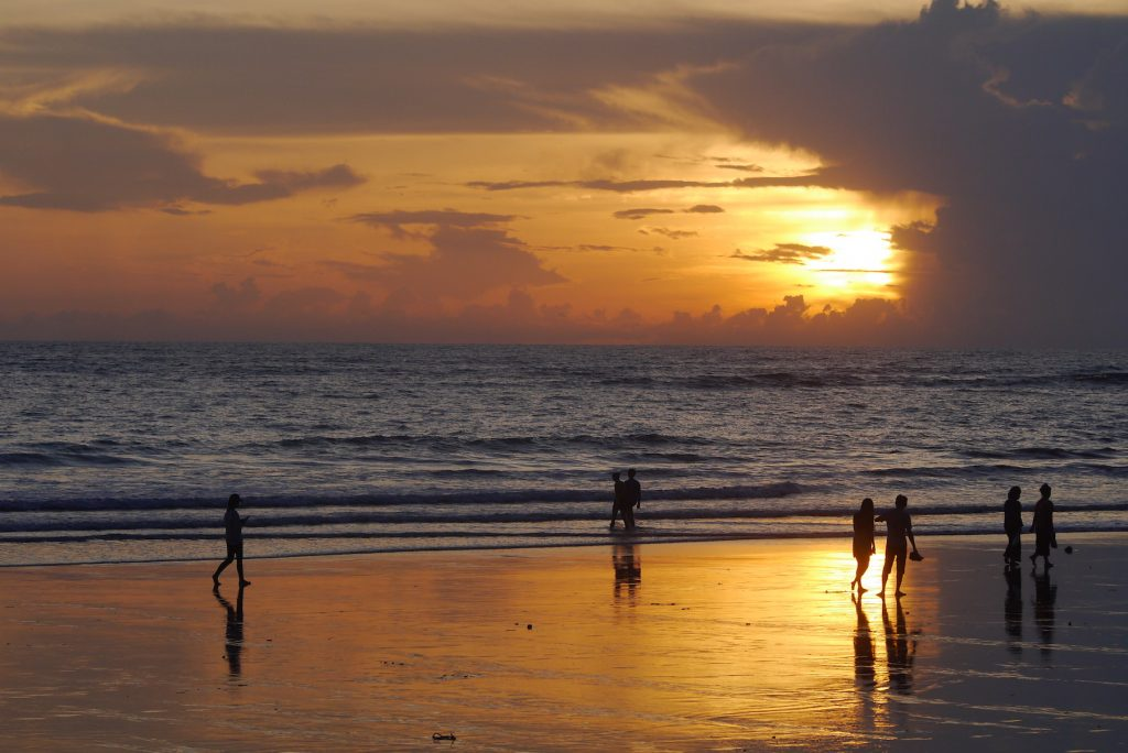Sunset Ngapali Beach