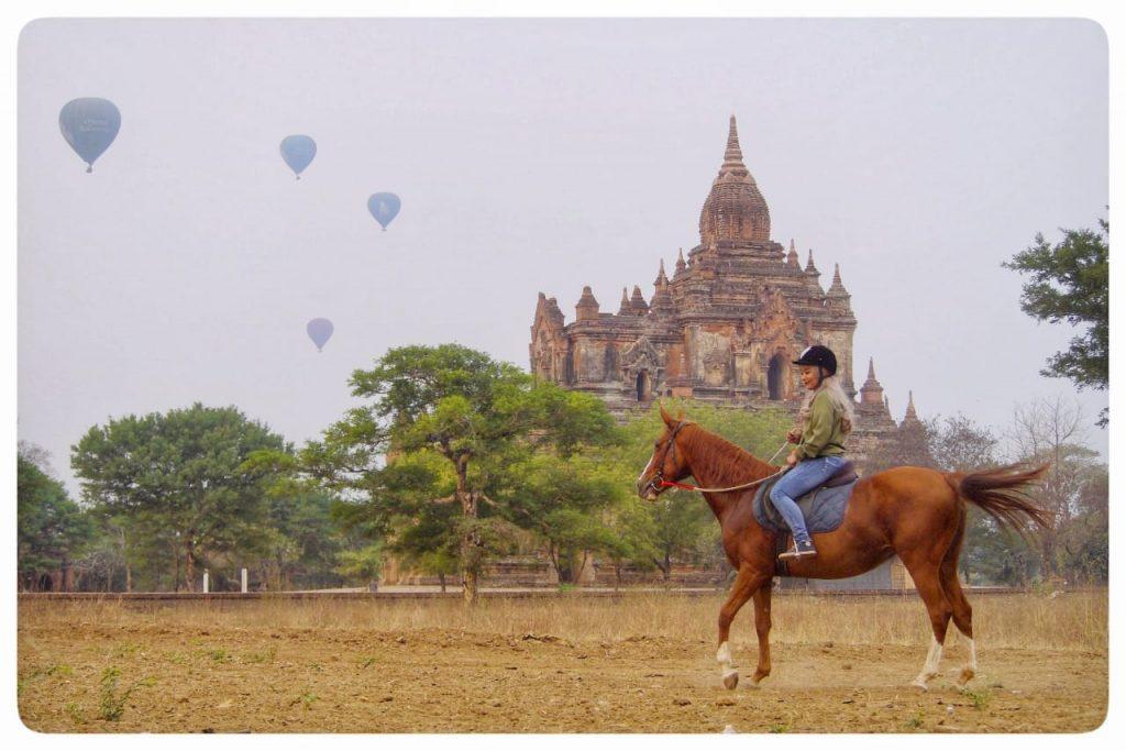 Bagan Sunrise by Horse Ride
