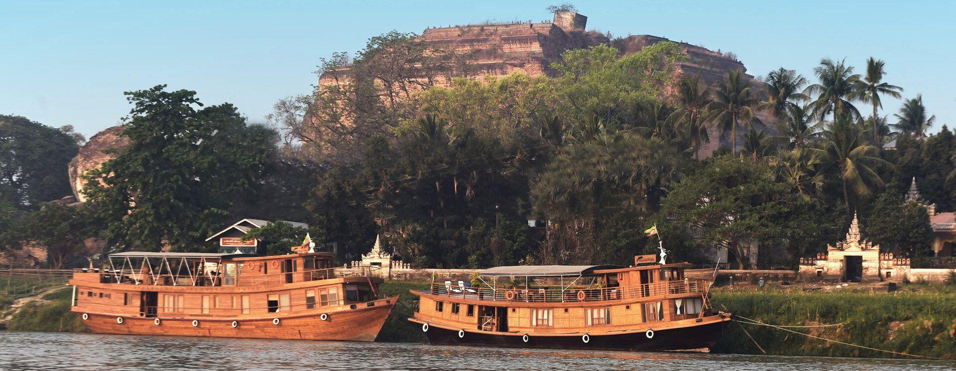 Bagan to Mandalay Cruise