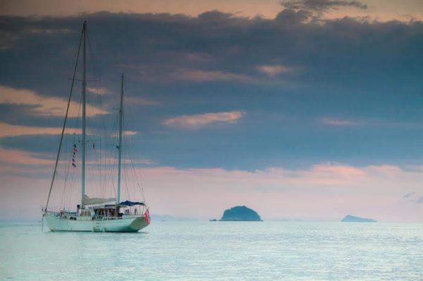 Burma Boating Meta IV Cruise the Island on board