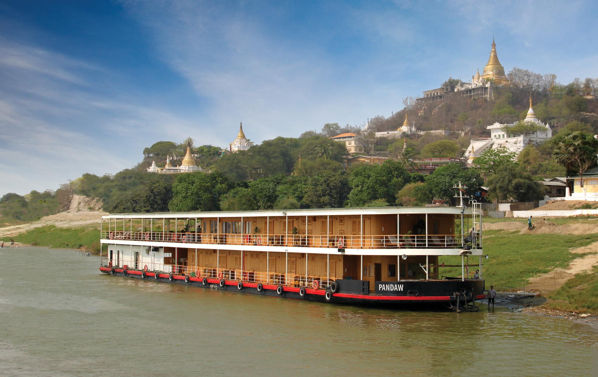 Pandaw Luxury Cruise Myanmar