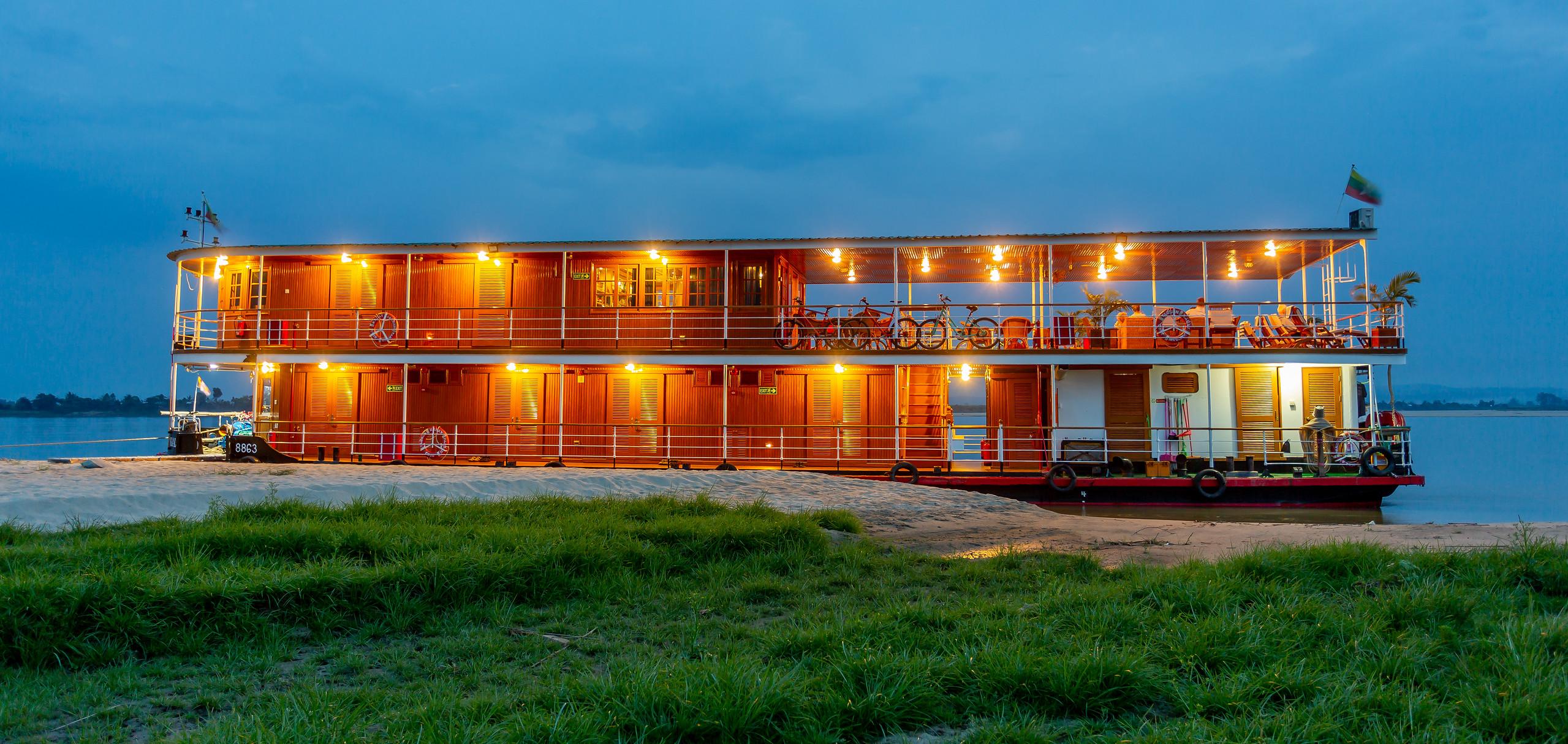 Pandaw Cruises Myanmar